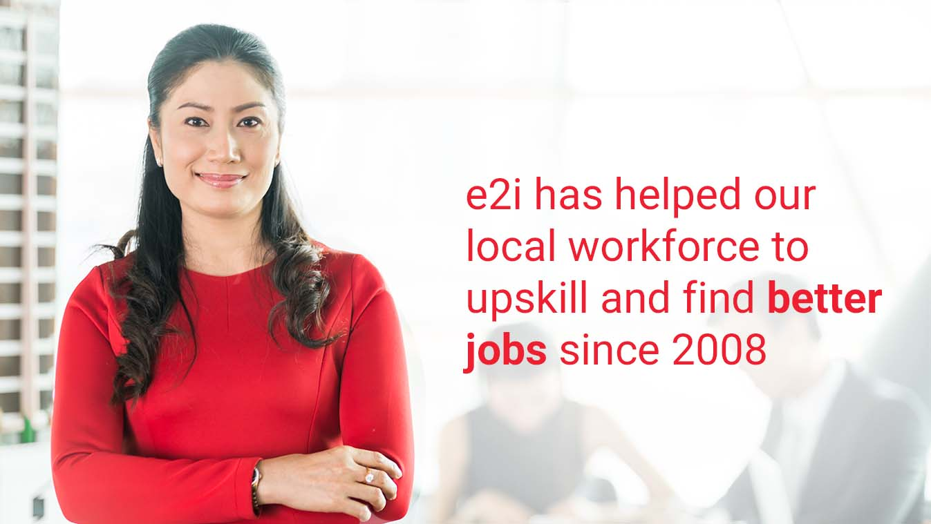 e2i has helped over 700,000 Singaporeans improve their lives and find better jobs!
